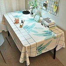 HLEF Wachstuch Tischdecke Abwaschbar