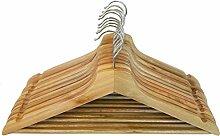 hLine Holz Kleiderbügel Anzug Garment Kleidung