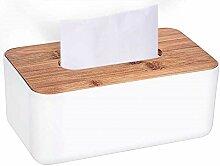 HLJ European Style Paper Box Holzauto mit Tissue