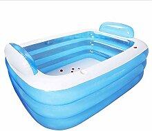 HLJ Planschbecken Schwimmen aufblasbare Pools
