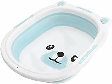HLJ Tragbare Baby Badewanne Faltbare Silikonspüle
