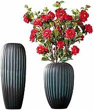 HLL Vase Glas Manuell Schleifen Dekorative