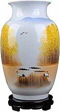 HLL Vase Keramik Handbemalte Promi Meisterwerk