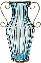 HLL Vase Kreatives Wohnzimmer Glas Gypsophila