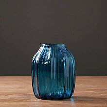 HLL Vase Modern Minimalist Buntes Glas Kreative
