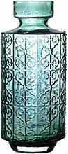 HLL Vase Personalisiertes Geprägtes Glas