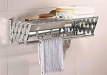 Hlluya Handtuchhalter Aus der Stanze langes Bad