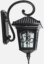 HLQW Außenwandleuchte Tür Wasserdichte Hoflampe