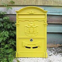 HLQW Europäische Art-Landhaus-Briefkasten-im