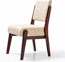 HLQW Massivholz Nordic Esszimmerstuhl, Sofa Chair,