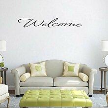 HLZLA Home Schlafzimmer Dekoration WILLKOMMEN