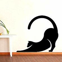 HLZLA Interessante Haustier Katze Tier Aufkleber