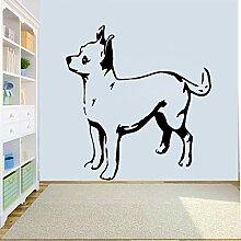 HLZLA Interessante Tier Hund Kunst Wohnkultur PVC