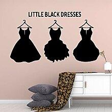HLZLA Künstlerische Little Black Dress