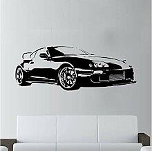HLZLA Sport Super Auto Aufkleber Wandkunst Dekor