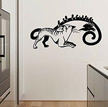 HLZLA Tier Katze PVC Dekoration Wandaufkleber
