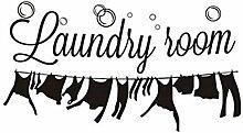 HLZLA Waschküche Waschküche Dekoration