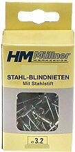 HM ++Blindnieten, Stahl 3.2x5,84 100 Stk., SB