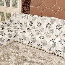 HM&DX Anti-rutsch Chenille Sofa abdecken,