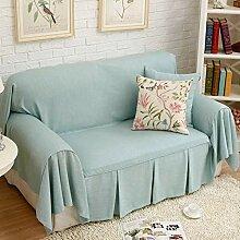 HM&DX Sofaüberwurf, Zerzaust Atmungsaktiv