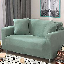 HM&DX Stretch Sofa Überwurf, Wildlederartigen