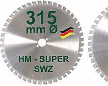 HM Kreissägeblatt 315 x 30 Z= 48 SWZ SUPER