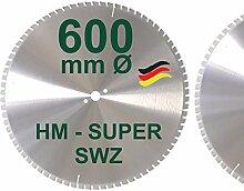 HM Kreissägeblatt SWZ 600 x 28 mm Z= 78 SUPER
