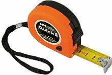 HM Rollmeter 8 m, 25 mm, m.Stop Softgriff, Clip,