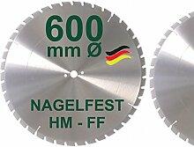 HM Sägeblatt 600 x 30 mm NAGELFEST FF Hartmetall