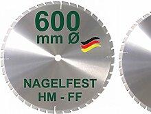HM Sägeblatt 600 x 35 mm NAGELFEST FF Hartmetall