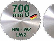HM Sägeblatt 700 x 30 mm LWZ Hartmetall