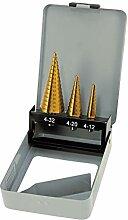 HM Stufenbohrer-Satz 3-Tlg. 4-32 mm