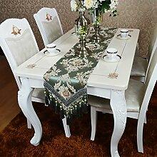 HmDco Europäische Moderne Frische Tischläufer,