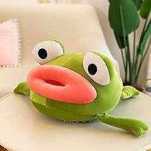 HMMJ Kreative Lustige Big Mouth Frog Puppe Poo