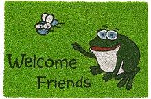 HMT 147412Fußmatte Motiv Welcome Friends mit