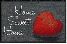 HMT 555002Fußmatte Home Sweet Home, aus
