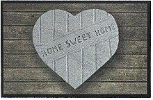 HMT 555003 Herz Home Sweet Home Fußmatte,