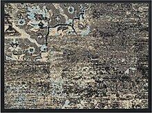HMT 5800426 Fußmatte, Polyamid, Vintage 60 x 80 cm