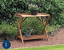HMWD Pflanztisch für den Außenbereich, aus Holz,