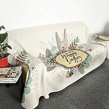 HMWPB Plüsch Sofabezug 1-stück Polyester