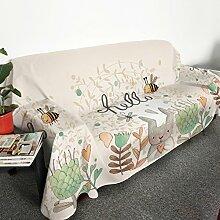 HMWPB Plüsch Sofabezug 1-teilige Polyester