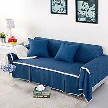 HMWPB Sofa Decken,1-stück Volltonfarbe