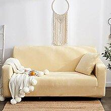 HMWPB Stretch Sofa slipcover, Einfarbige Tuch