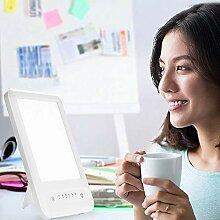 Hmyloz Portable Lichttherapie Lampe Timer