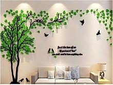HNBGY Modern Natürlicher Stil Baum Muster Decals
