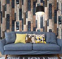Hndrkj Tapete Steinoptik Holz Tapete Für Wände