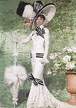 HNMFT DIY 5D Diamant Malerei Kit Audrey Hepburn