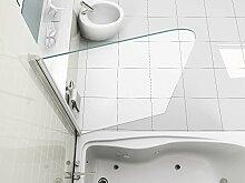 Duschwand dichtung g nstig online kaufen lionshome - Schwenkbare duschwand ...