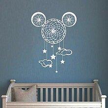 HNXDP DreamCatcher Wandtattoos Mickey Mouse Vinyl