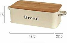 hnxsy Iron Box Rectangular Seasoning Box Bread Box